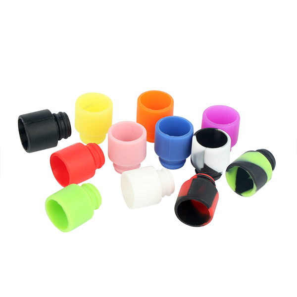 Sailing Heath and Clean Disposable Silicone 510 Drip Tips for Ejuice Test