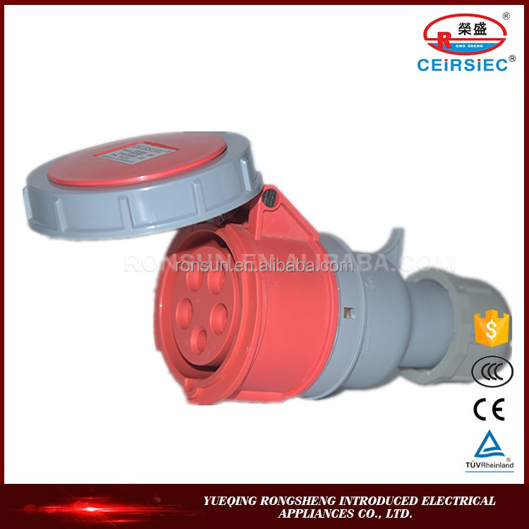 Energy saving 50,000 hours operating lifetime cee plug connector