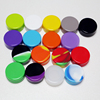 Various colors high end 3ml silicone container non-stick smooth inside wall silicone essential oil container for Christmas