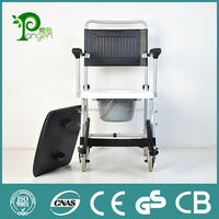 High quality ce approved folding patient toilet chair