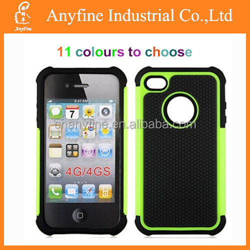2014 new 3in1 PC+TPU+silicone case for Iphone/Samsung/Blackberry/LG/HTC/NOKIA/SONY