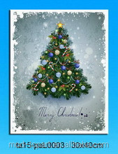Arts Paintings Merry Christmas Trees Prints Wall Art