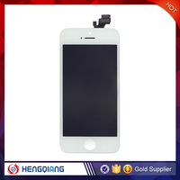 Wholesale price iP 5S lcd digitizer assembly and lcd display and touch screen for iphone 5