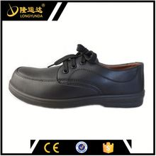 lace-up microfiber leather plastic toe with CE standard security shoes