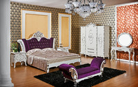 DXY-Canada furniture bed from foshan-top selling luxury design wood crafts bedroom sets BR-002#