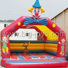 Inflatable clown jumping bouncer, funny clown inflatable bouncer castle