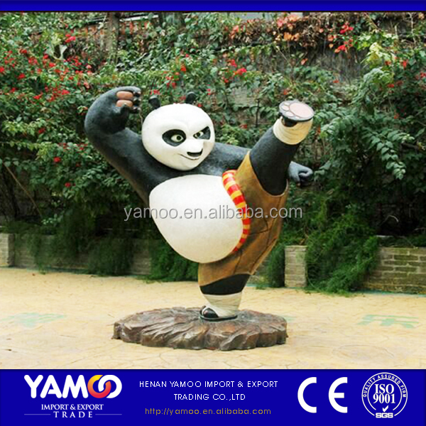 Yamoo hot selling theme park decoration / carnival park decoration animals