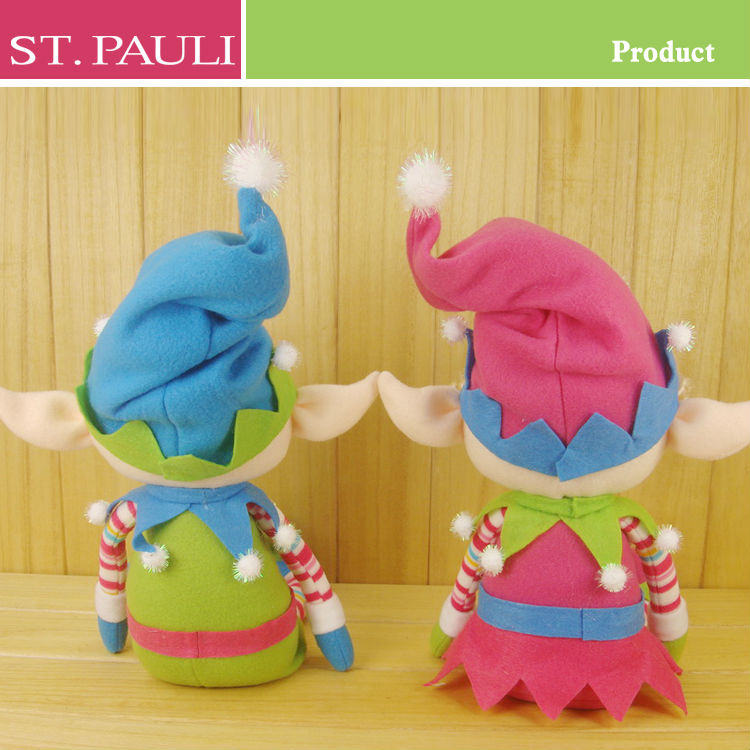 new great ideas soft sitting colorful christmas toy gift