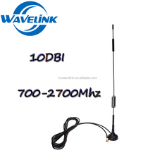Factory Price Detachable 4g LTE Car 2600 Mhz Antene Magnetic Mount Long Range 4G LTE Antenna With RG174 Cable