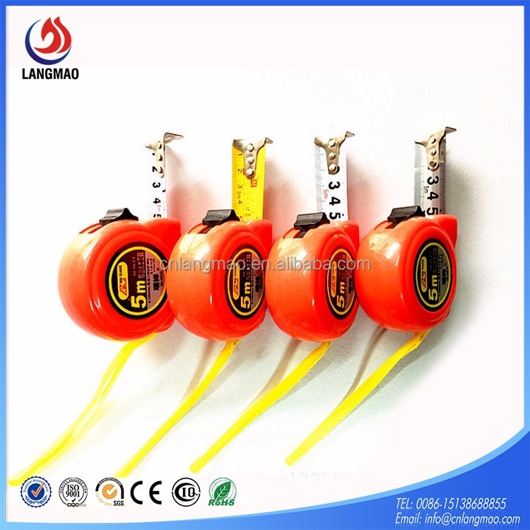 Hot sale in India small tape measure keychain 8m