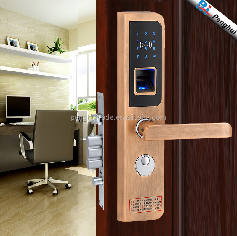 New touch screen biometric Security digital Smart bio Fingerprint door Lock
