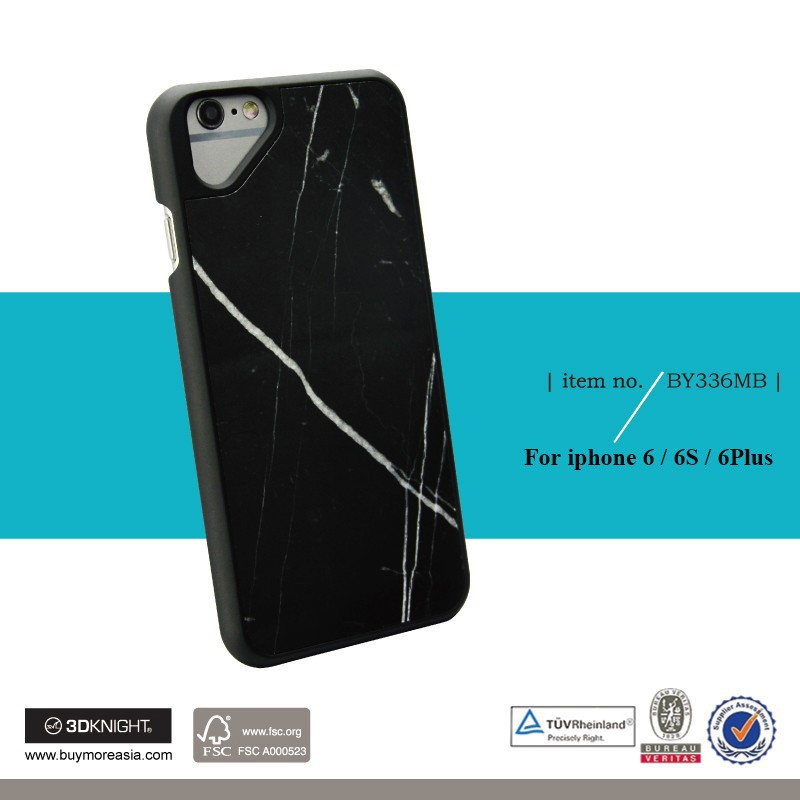 2016 Newest Real Marble Stone Nature Eco-friendly Phone Case for iPhone 6 for i Phone 6s Hand Made Ultra Thin Marble case