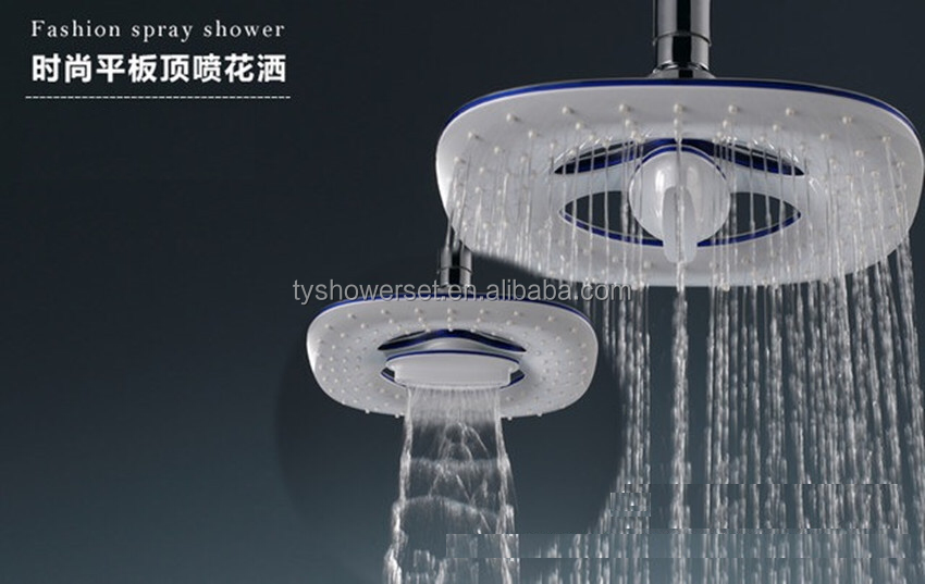 "8"" 2 Function Waterfall and Water Spray Enjoy an Invigorating & Luxurious Spa top shower head"