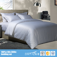 Alibaba Hotel Line Suppliers 60*60S Egyption Cotton Super Single Stock Hotel Bed Sheets Sets On Sale