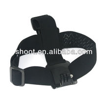 Go-pro helmet strap for GoPro HERO 2 3 with Mount Adapter