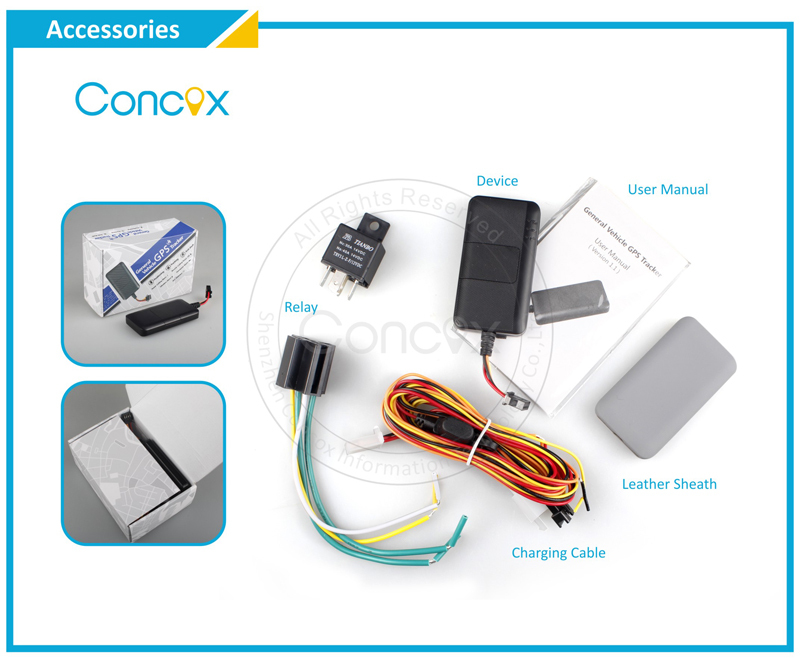 Concox Super Mini General GPS Vehicle Tracker WeTrack 2 with Wide Voltage Range Apply to All Vehicle Types.