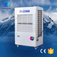 USA quality industrial evaporative pedestal fan with air cooler