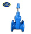 KEFA ci 8inch flanged gate valve with rubber wedge