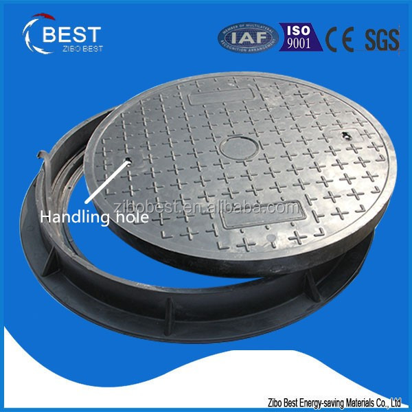 clay trap FRP Deck Grating Polymer Electrical Manhole Covers