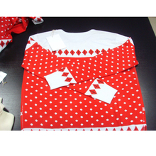 PK17ST109 Acrylic Norwegian Jumper Christmas season women clothes