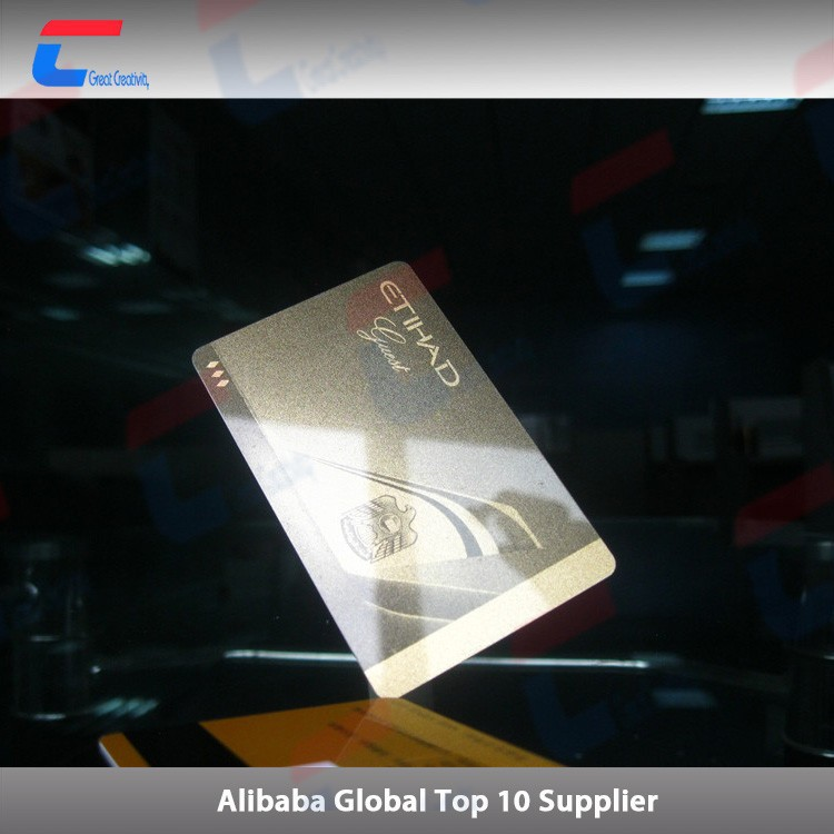 Deluxe rfid contactless vip card nfc smart card