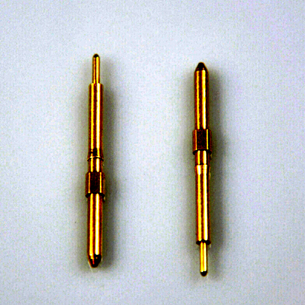 Precision brass electrical solid plug pin