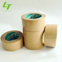 Yahoo mail adhesive transparent and brown bopp packing tape