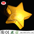 Home lighting of paper star lantern