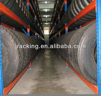 Push Back Jracking Warehouse Truck Tyre Racking