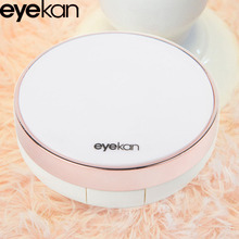Maimeng Smooth surface Eyekan Round Rose contact lens case colorful korean latest design contact Lens case wholesale