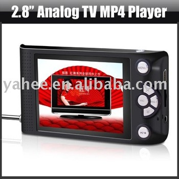 Digital MP4 Player with 2.8 TFT Display,YHM-TV01