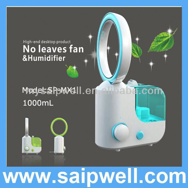 2013 NEW! Popular! Best sellers ! best cool mist humidifier / No leaves fan & humidifier