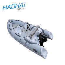 14.1ft 430cm luxury fiberglass military patrol boat for sale