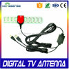 top rated supplier indoor hdtv tv antenna high gain high dib best indoor tv antenna with f connector