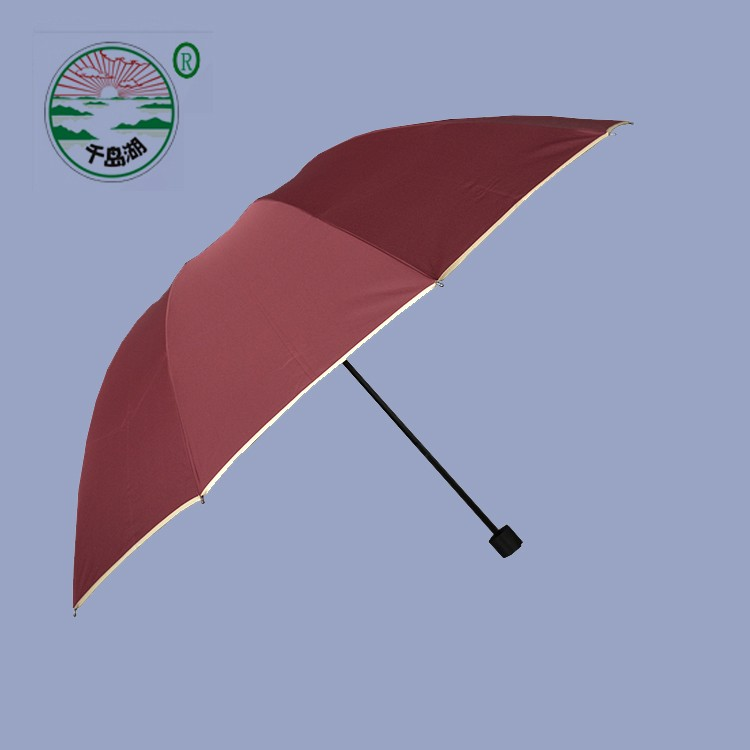 auto open and close glowing satin umbrella umbrella foldable gift umbrella printing payung