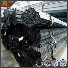 Size 40x40 oiled coating square tube price per piece, mild carbon black steel pipe manufacturer