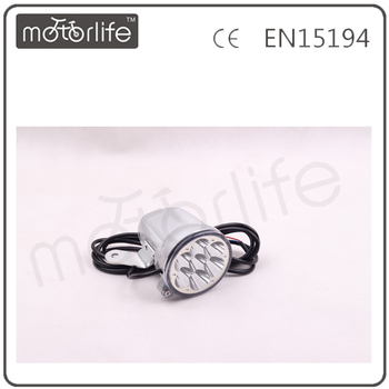 MOTORLIFE 36/48V electric bike front LED light