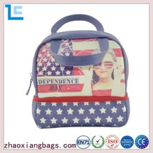 Zhaoxiang manufacturers custom printed sublimation utility tote bag