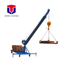 lifting materials plus arm tool small pickup with portable shop lift marine folding crane