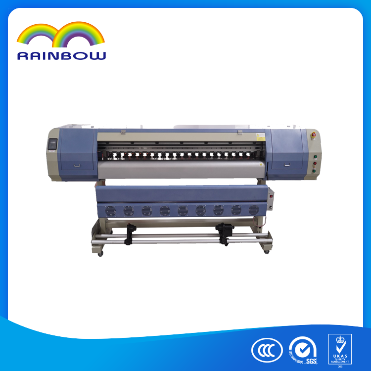 commercial digital photo printer industrial eco solvent printer 1.8m