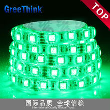 colorful decorative lighting 3528 3v 60 leds 4.8w ip67 green led strip