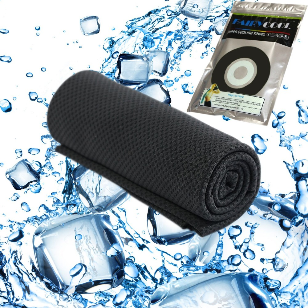 Sports Cooling Towel, Snap Cooling Towel for Sports, Workout, Fitness, Gym, Yoga, Pilates, Travel, Camping