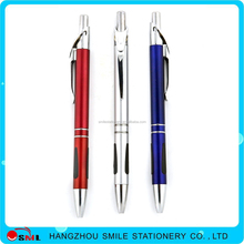 2016 Office supply plastic logo ball pen china stationery