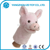 wholesale kids plush animal hand puppet toys