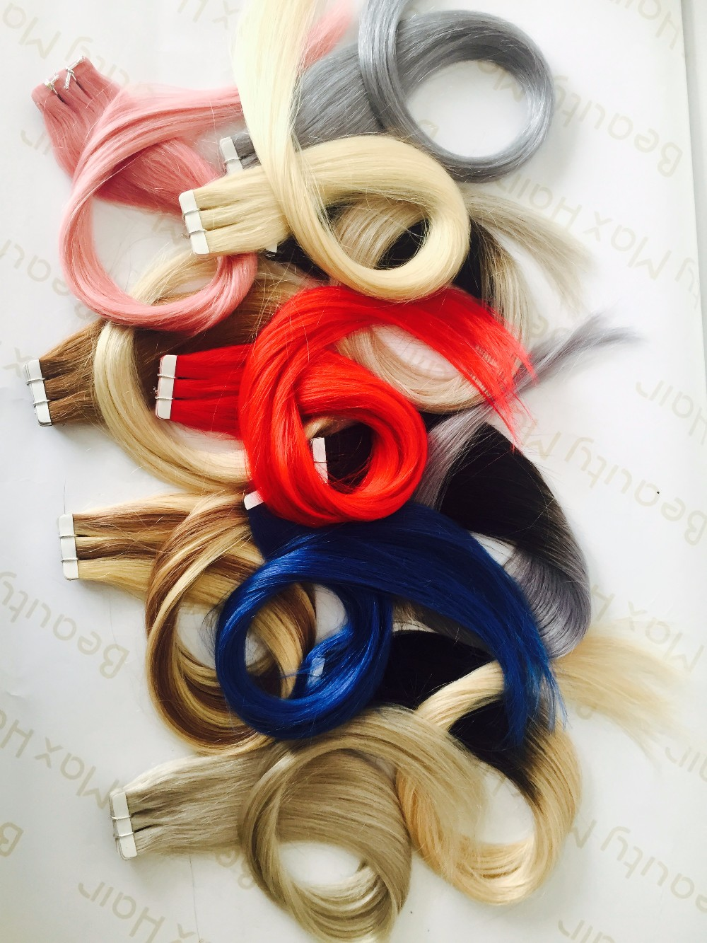 Hot Selling!!! Full Cuticle One Donor 100% Virgin Brazilian Hair Wholesale Private Label 7A Tape Hair