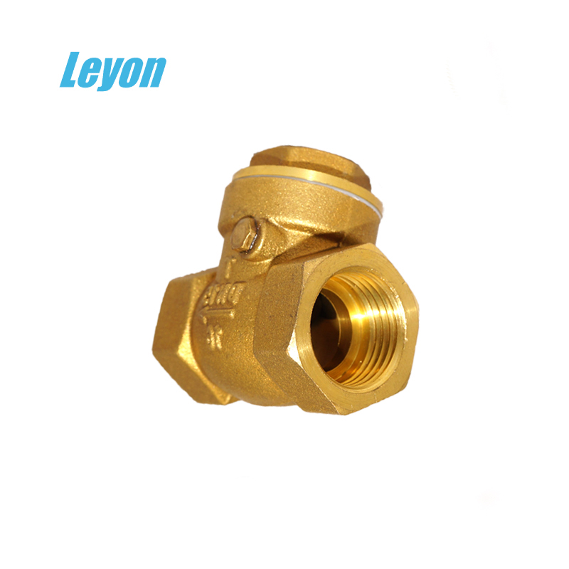 air conditioner hydraulic 3/4 inch brass float ball valve brass check valves