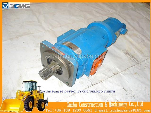 Factory Price Original XCMG Construction Machinery Parts - Loader Parts - Double Link Pump
