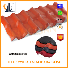 Good Fire-resistant spanish Rating ASA coated synthetic resin roof tiles for house roof
