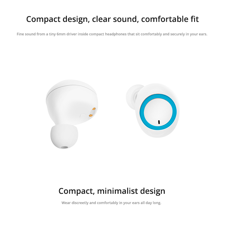 feinier factory best price  hot selling new design TWS earbuds truly wireless bluetooths headphones