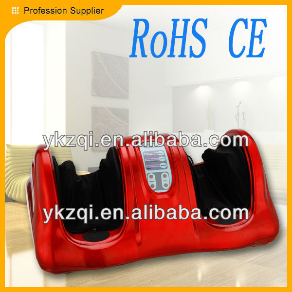 2013 best selling rubber vibrating electric kneading reflexology device